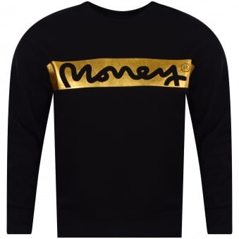 Black/Gold Logo Sweatshirt