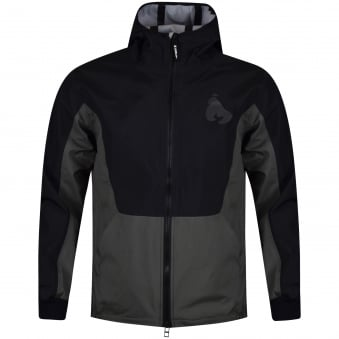 Money Clothing Black Lightweight Hooded Jacket