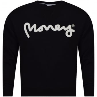 Money Clothing Black/White Logo Sweatshirt