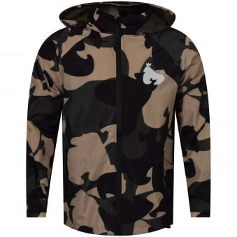 Money Clothing Camo Windbreaker Jacket