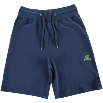 Money Clothing Navy Jogger Shorts