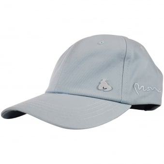 Money Clothing Pale Blue Logo Baseball Cap