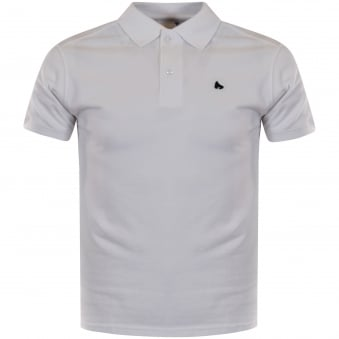 Money Clothing White/Black Zamac Polo Shirt