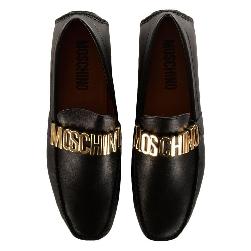 Versace Black Formal Shoes