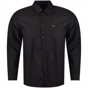 Moschino Jeans Black Long Sleeved Button Shirt