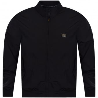 Black Zip Through Lightweight Jacket