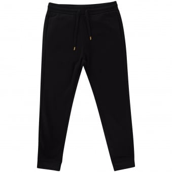 Love Moschino Black Tapered Jogging Bottoms