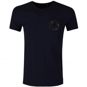 Love Moschino Navy Clear Logo T-Shirt