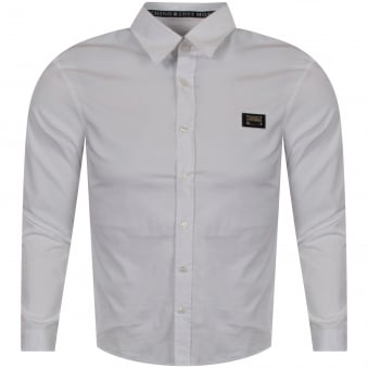 Moschino Jeans Love Moschino White Long Sleeved Shirt