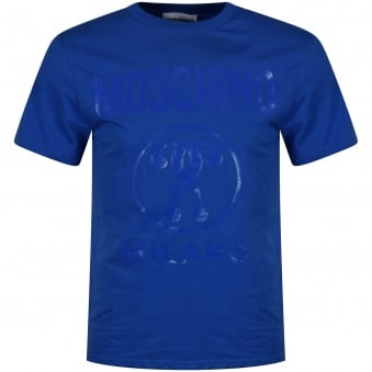 Moschino Royal Blue Logo T-Shirt