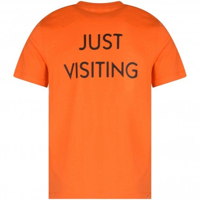 MOSTLY HEARD RARELY SEEN 8-BIT Orange Bars T-Shirt reverse