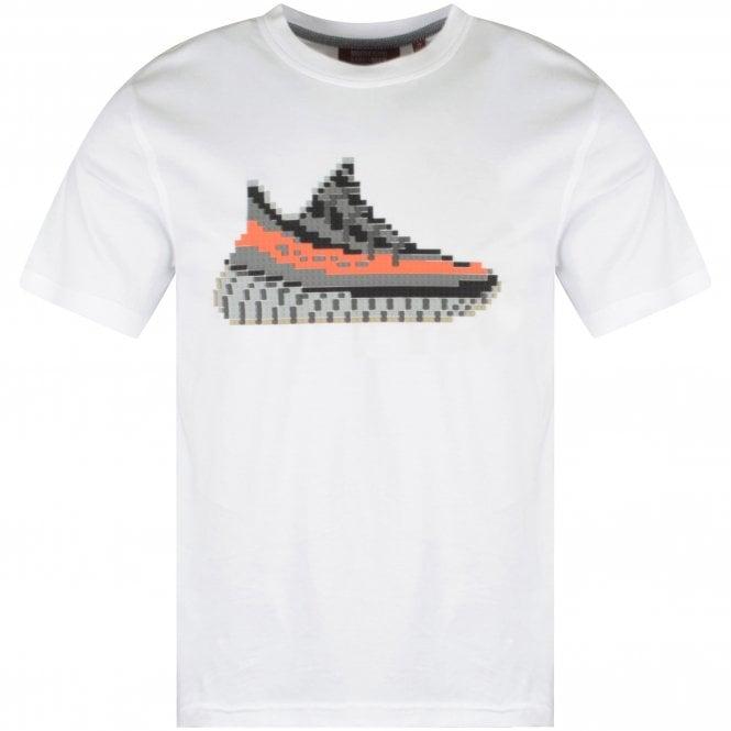 MOSTLY HEARD RARELY SEEN 8-BIT White Yeezy T-Shirt