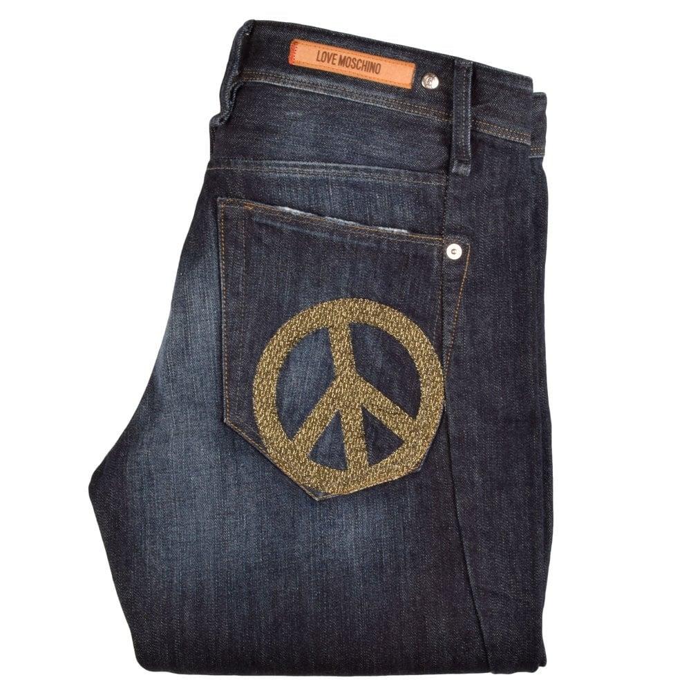 dcc07b38c8 MQ26009 Dark Blue Fade Slim Fit Jeans