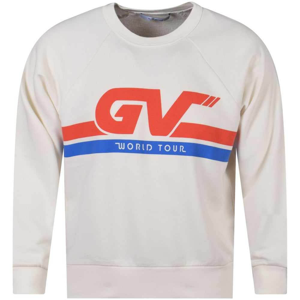 176b456b GIVENCHY Natural White GV Tour Sweatshirt - Department from ...