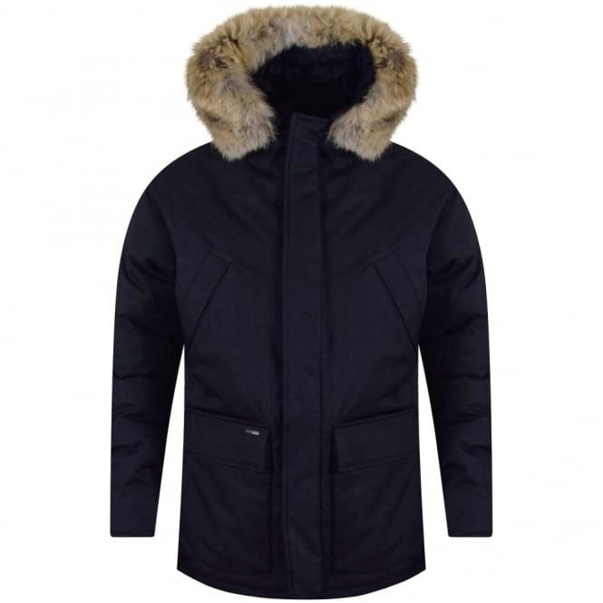 1acedebe9 Navy Heritage Parka Jacket