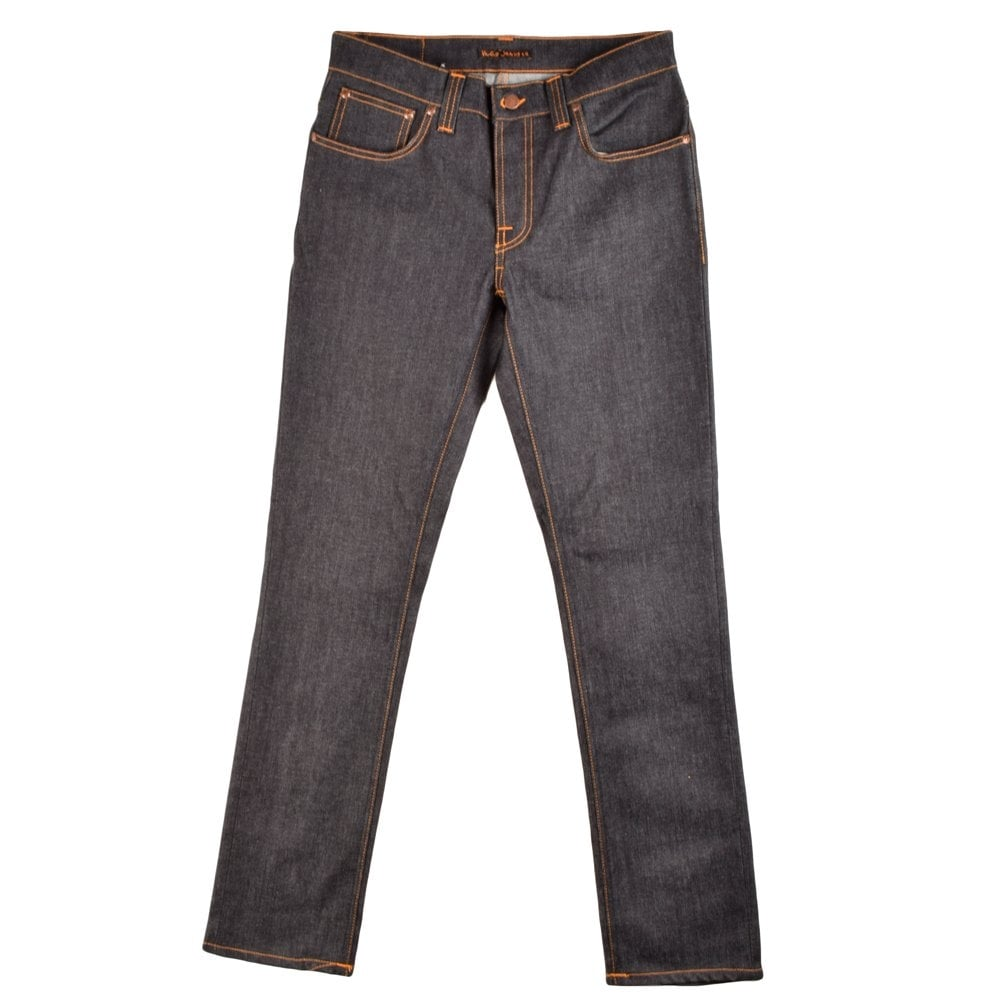 nudie jeans grim tim tapered jeans nudie jeans from. Black Bedroom Furniture Sets. Home Design Ideas