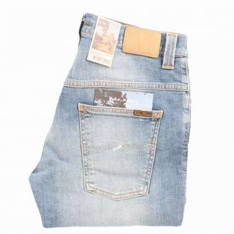 Nudie Tender Blue Thin Finn Jeans