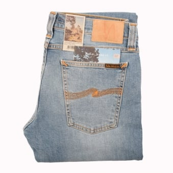 Nudie Saltwater Indigo Tight Long John Jean