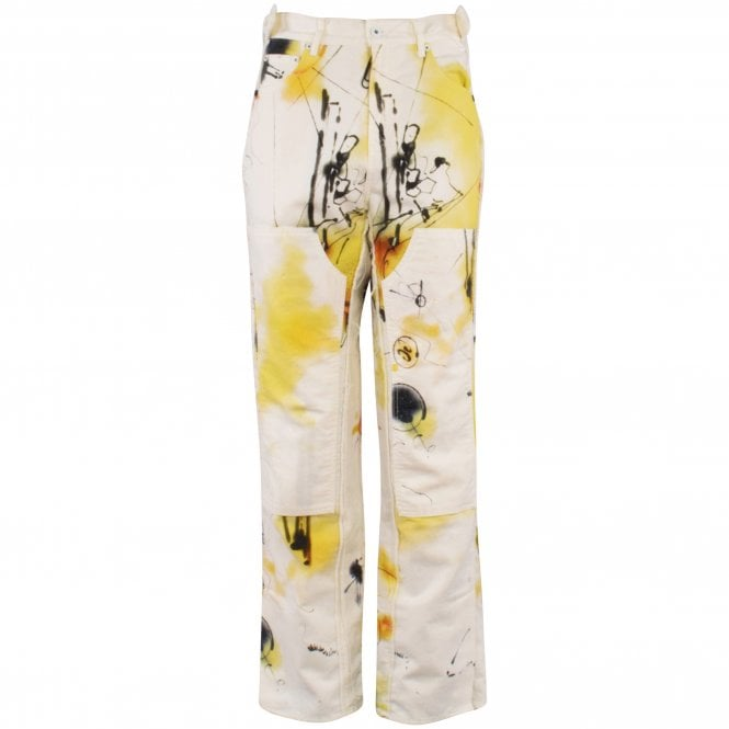 OFF-WHITE Futura Abstract Carpenter Trousers Front