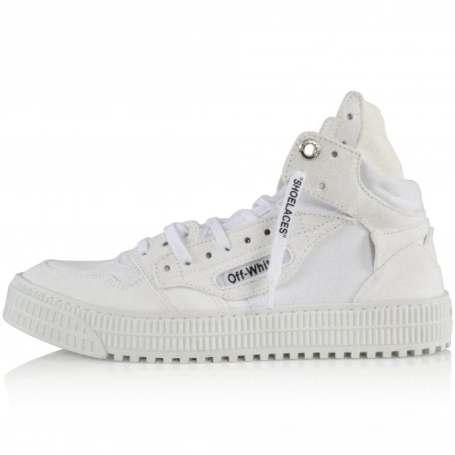 OFF-WHITE White Off-Court Trainers Side