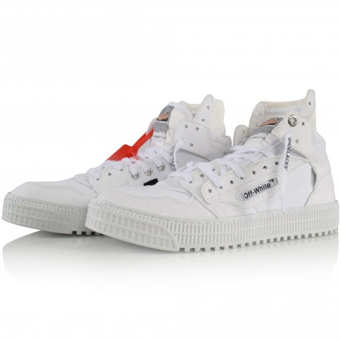 OFF-WHITE White Off-Court Trainers Front