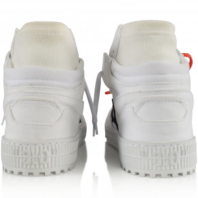 OFF-WHITE White Off-Court Trainers Reverse
