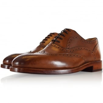 Oliver Sweeney Aldeburgh Dark Tan Brogue