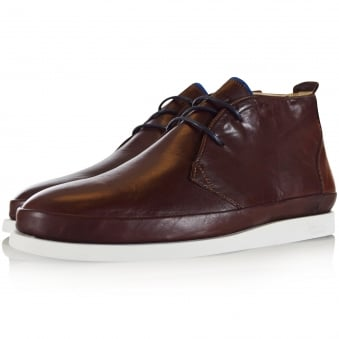 Oliver Sweeney Brown Islingword Leather Boot Shoe
