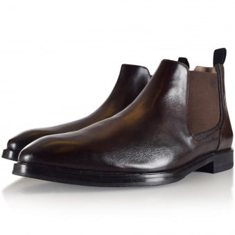 Oliver Sweeney Brown Maida Chelsea Boots