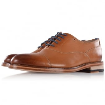 Oliver Sweeney Tan Oxford Lace-Up Shoes