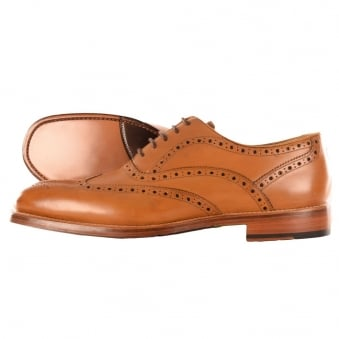 Oliver Sweeny Aldeburgh Tan Oxford Brogues