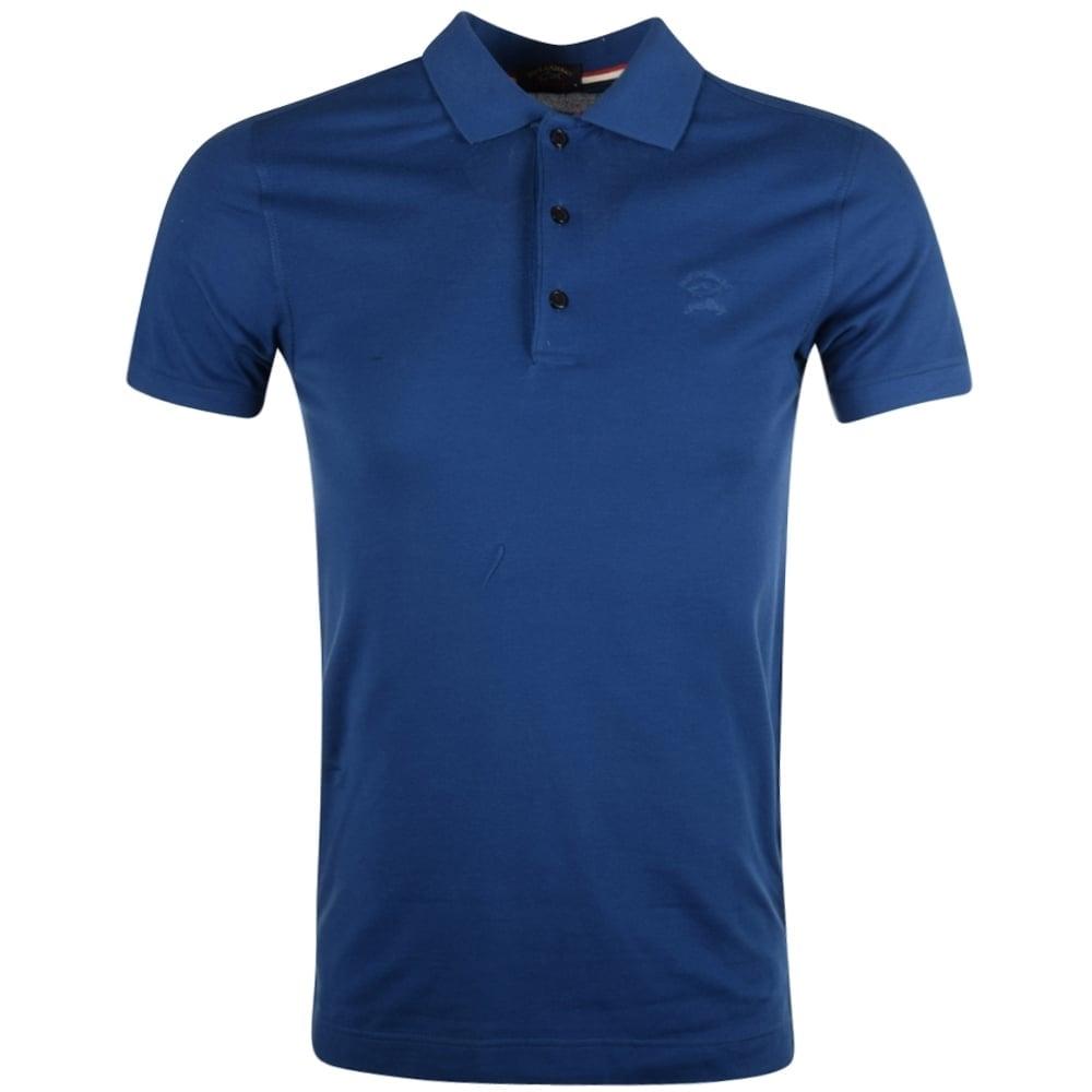 PAUL   SHARK Paul   Shark Blue Polo Shirt - Men from Brother2Brother UK 78d06fff0540