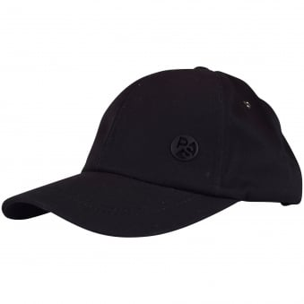 Paul Smith Accessories Black Logo Baseball Cap