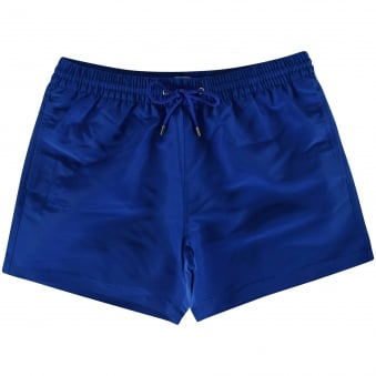 Paul Smith Accessories Blue Pocket Logo Swim Shorts