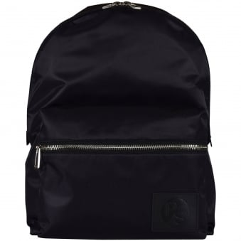 Paul Smith Black Logo Backpack