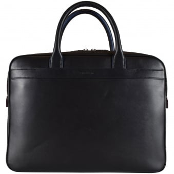 Paul Smith Black Multi Trim Mini Business Bag