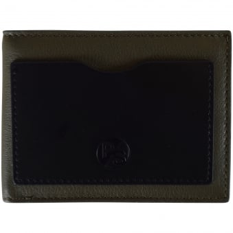 Paul Smith Khaki Leather Wallet