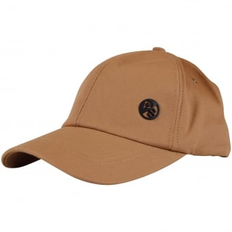 Paul Smith Accessories Tan Logo Baseball Cap