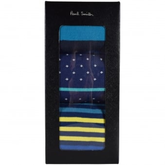 Paul Smith Assorted 3 Pack Socks