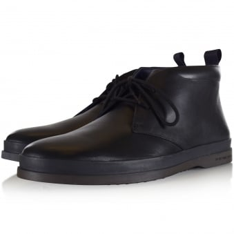 Paul Smith Black Leather 'Inkie' Boots