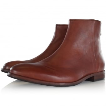 Paul Smith Brown 'Jean' Leather Boots