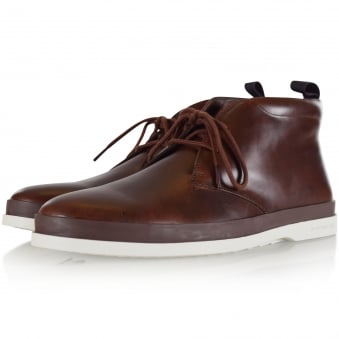 Paul Smith Brown Leather 'Inkie' Boots