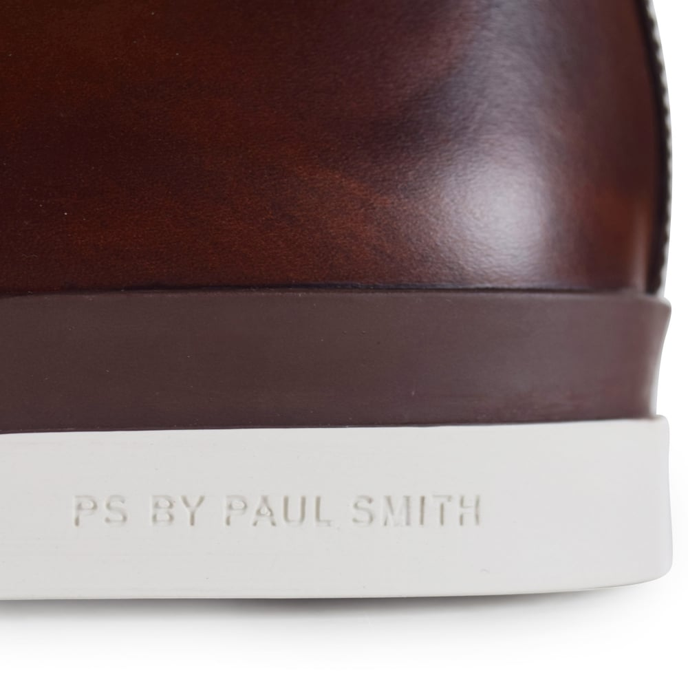 e15bbbea599 Paul Smith Brown Leather 'Inkie' Boots