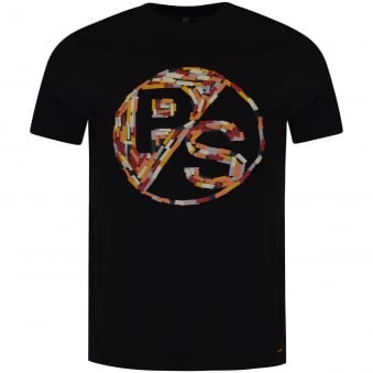 Paul Smith Coloured Logo Design T-Shirt