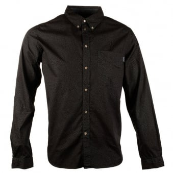 Paul Smith Dark Green All Over Pattern Shirt
