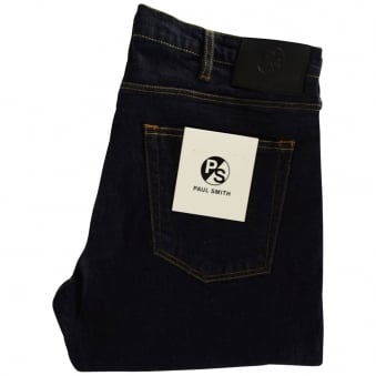 Paul Smith Dark Rinse Tapered Fit Jeans