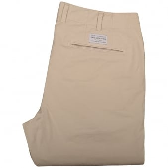 Paul Smith Jeans Beige Tapered Fit Chinos