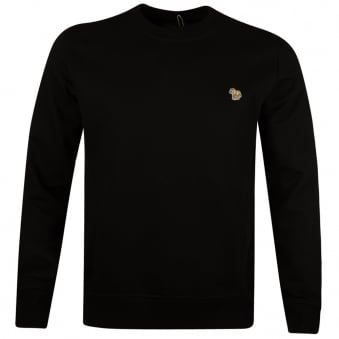 Paul Smith Jeans Black Crew Neck Sweatshirt