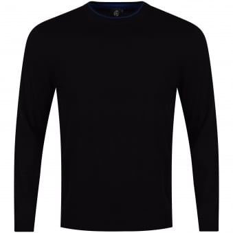 Paul Smith Jeans Black Knitted Jumper