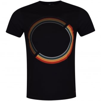 Paul Smith Jeans Black Multi Circle Print T-Shirt